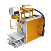 Wholesale Hand Held Mini Laser Engraving Machine For Metal For Product Date Serial Number from china suppliers