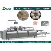 Wholesale Granola peanuts sesame rice mixing Bar forming line SUS304 material from china suppliers