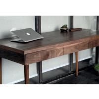 Wholesale 2 Or 3 Drawer Modern Design Solid Wood Corner Desk / Walnut Corner Computer Desk from china suppliers