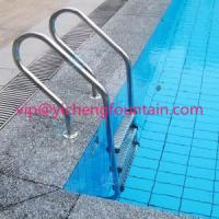 Wholesale SS 304 Swimming Pool Accessories Ladders With Anti - Slip Steps / Safety Handrail from china suppliers