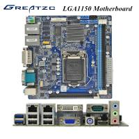 Wholesale Advertising Machine Socket LGA 1150 Motherboard With 2 LAN VGA HDMI DVI PCIE 16X from china suppliers