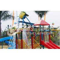 Wholesale Fiberglass Kids' Water House Playground Inside Water Parks With Water Pump from china suppliers