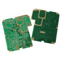 China Multilayer Rogers PCB , Gold Plate Custom Printed Circuit Board Long Lifespan on sale