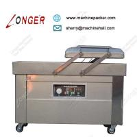 Wholesale Industrial High Speed Meat Double Chamber Vacuum Packaging Machine Price from china suppliers