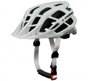 Wholesale Blue Mens Bicycle Helmet Visor / Enduro Mountain Bike Helmet 23 Vent Holes from china suppliers