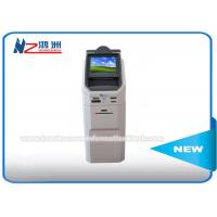 Wholesale Touch Screen Self Payment Kiosk Machine With Cash Dispenser / Credit Card Reader from china suppliers