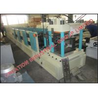 Wholesale Adjustable Steel Z Purlin Roll Forming Machine With Mitsubishi PLC Control System from china suppliers