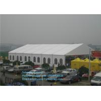 Wholesale 15m Arch Clear Span Tents With White ABS Wall For Luxury Party , Outside Event Tent from china suppliers