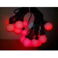 Wholesale Outdoor Red LED Globe Ball String Lights from china suppliers