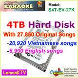 Quality 27850 Vietnamese&English songs include 4TB HDD+ Android Karaoke player with 1080P ,air KTV, Insert Coin for sale