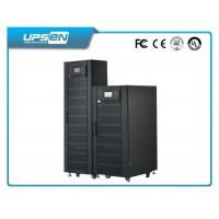Wholesale 3 Phase Double Conversion Online UPS with 380VAC Neutral Ground and black from china suppliers