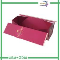 Wholesale Single Wine Glass Bottle Gift Box Cardboard Paper Packaging Magnetic Wine Box from china suppliers