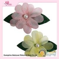 Wholesale Decoration Pink Handmade lapel flower pins With Pearl eco friendly feature from china suppliers