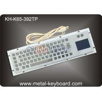 Wholesale Metal Industrial Keyboard with Touchpad , Vandal - Resistance metallic keyboard from china suppliers