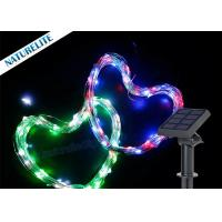 Wholesale Christmas Copper Wire String Solar Led Garden Lights 60 LED / M Waterproof Shape Light from china suppliers