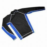 Wholesale Chlorine-resistant Swimwear/Rash Guard, Used for Swimming and Surfing from china suppliers