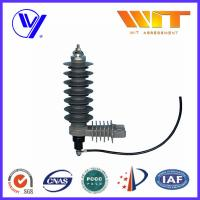 Wholesale 36KV Substation Type Class 2 Composite Low Voltage Surge Arrester with Hoop from china suppliers