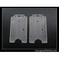 Wholesale Open face plastic hard clear holder in vertical shape popular style for American market from china suppliers