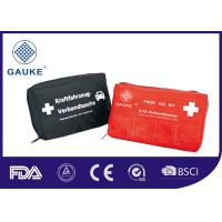 Wholesale DIN13164 Vehicle First Aid Box Medical First Aid Kit Compliant to European Laws from china suppliers
