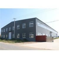 Wholesale Light Steel Structure / Affordable Metal Frame Homes Prefabricated Warehouse from china suppliers