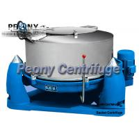 Wholesale Three Foot Scraper Bottom Discharge Basket Chemical Centrifuge With Interval Operation from china suppliers