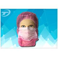 Wholesale Disposable astronaut cap with face mask  2ply / 3ply earloop , made of polypropylene fabric from china suppliers