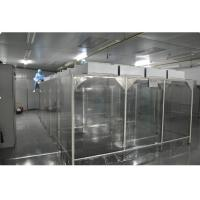 Wholesale Industrial Laboratory Softwall Clean Room , PC Control Class 1000 Cleanroom from china suppliers