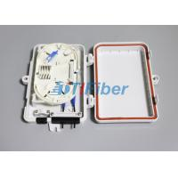 Wholesale FTTH Optical Fiber Termination Box With 4port SC LC Fiber Optic Connectors from china suppliers