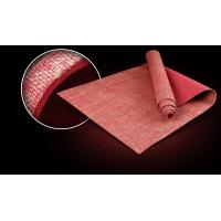 Wholesale Virson Fashion jute covered pv yoga mat/eco yoga mat jute.fitness. gym mat from china suppliers