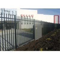 Wholesale Powder coated tubular steel fence from china suppliers