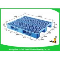 Wholesale Recyclable Racking Ventilated Heavy Duty Pallets , Economic Stackable Plastic Pallets from china suppliers