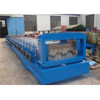 Wholesale Galvanized Steel Floor Deck Tile Making Machine , Metal Deck Roll Forming Machine from china suppliers