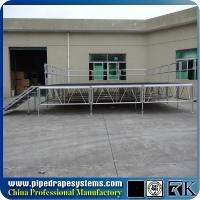 Buy cheap modular portable stage 4ft x 4ft indoor/outdoor concert stage from wholesalers