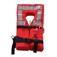 Wholesale Orange Naval Adult  Boat Marine Life Jacket Lifesaving Lifevest EC / RINA / GL Approval from china suppliers