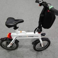 Wholesale Green 12 Inch Foldable Electric Scooter , Mini Smart Bike 25 km / h from china suppliers