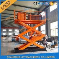 Quality CE TUV 2T Stationary Hydraulic Scissor Lift for sale