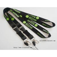 Wholesale Business Cheap Logo & Text Words Silk Screen Print Lanyards with Release Buckle from china suppliers