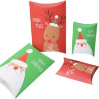 Buy cheap Christmas Gift Pillow Custom Retail Packaging Boxes 350gsm Art Paper Material from wholesalers