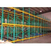 Wholesale Heavy Load Dynamic Flow Pallet Rack Q235B Steel Storage Racking For Cold Supply Chain from china suppliers