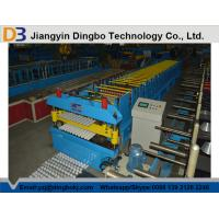 Wholesale Cable Tray Double Layer Roll Forming Machine with Cr12mov Blade / 20 Groups Rollers from china suppliers