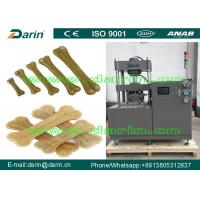 Wholesale English Version Pet dog food machinery for dog chewing food with CE certificate from china suppliers