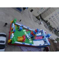 Wholesale 0.55mm PVC Tarpaulin Outdoor Theme Inflatable Playground For Kids from china suppliers