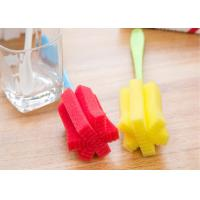 Quality Creative design High quality long handle cleaning cup sponge brushes foam brushes for sale