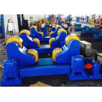 Wholesale Anti - Creep Pipe Welding Rotator With One Idler Roller / One Driving Roller from china suppliers