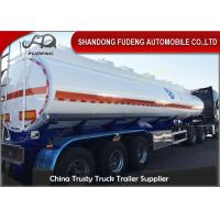Wholesale 36000 Liters Petrol Tanker Trailers 3 cabins for fuel transportation from china suppliers
