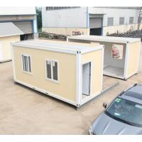 Wholesale portable refugee housing unit flat pack container refugee camp from china suppliers