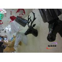Buy cheap Maso Hot Sale Hotel Project Deer Head Resin Wall Lamp Contemporary Style E27 Lamp Base One Holder MS-W1008 CE Standard from wholesalers