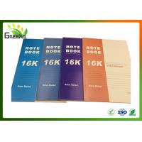 Buy cheap 8mm Ruled Line Exercise Notebooks for Note-taking , 188 * 260mm Size from wholesalers