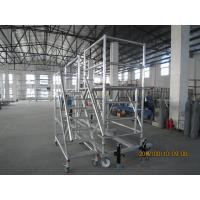 Buy cheap Helicopter Maintenance Portable Scaffolding fast erection platform Ladder Scaffolding from wholesalers