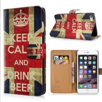 Wholesale Cartoon Cute Designs iPhone Protective Case Wallet Flip Leather Case With Card Slot from china suppliers